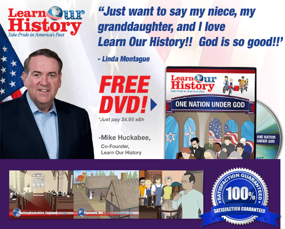 Order Learn Our History DVD  Now!
