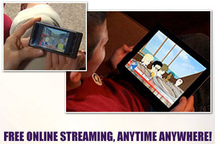 FREE ONLINE STREAMING, ANYTIME ANYWHERE!